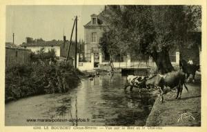 Le Bourdet - Vue sur le Bief et le Château