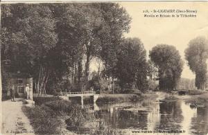 Saint Liguaire l' écluse et le moulin  de la Tiffardiere