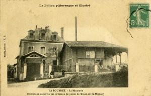 Le Bourdet, la minoterie