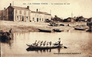 La Venise Verte Le ramasseur de lait
