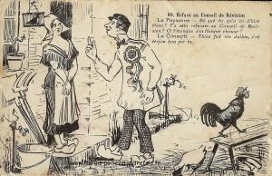 HUM 1 POI Refuse au conseil de Revision 80 ...1930 - Copie