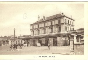 Niort, Gare - marais-poitevin-autrefois