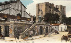 Niort, Halles - marais-poitevin-autrefois