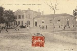 STHa 5 dauneau...Hotel de ville et groupe scolaire Oct 1907
