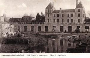 Le Château d'Arçais