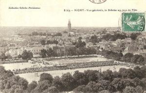 Niort, Place de la brèche - marais-poitevin-autrefois